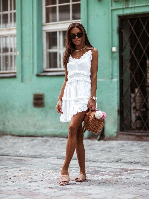 Sukienka Factory Biała