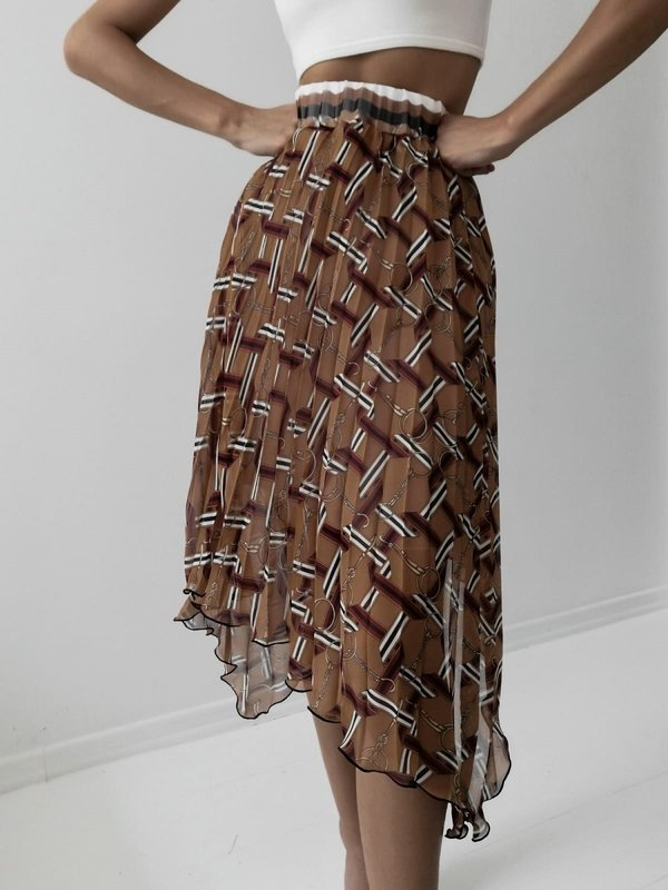 Spódnica Valeria Pomarańczowa