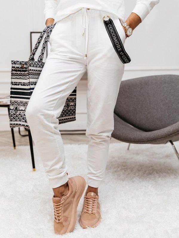 Spodnie Balance Kremowe