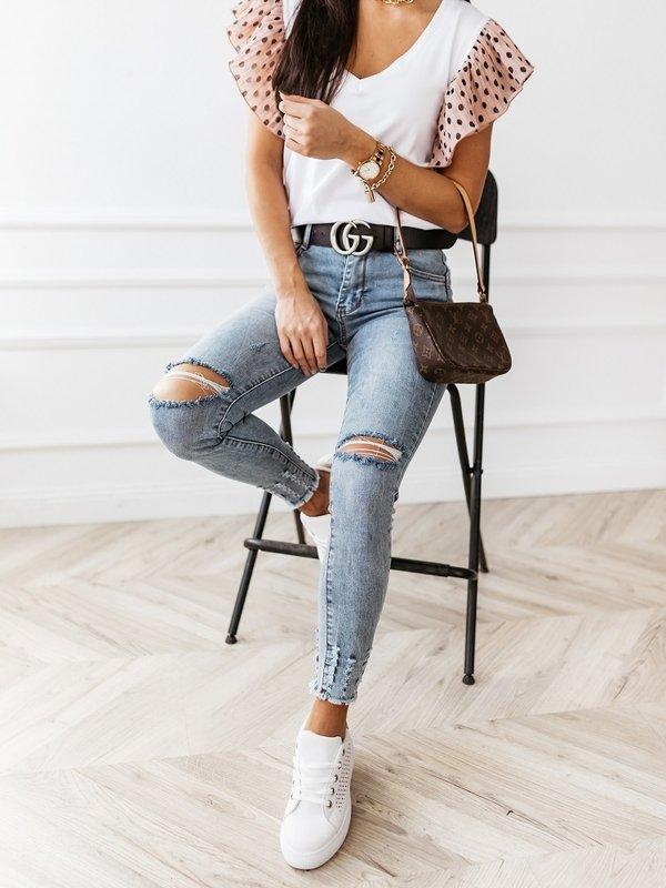 Spodnie Taylor Ripped Jeansowe