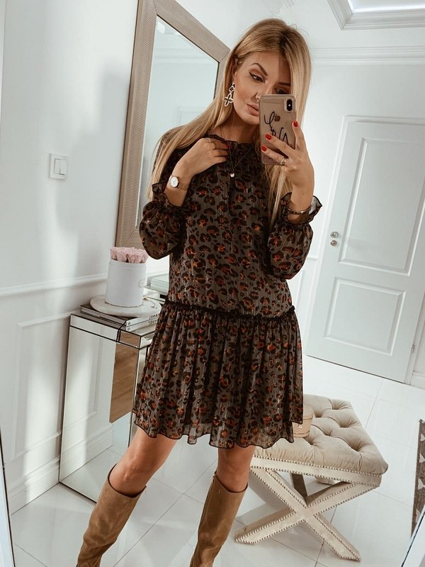 Sukienka Alie Szara