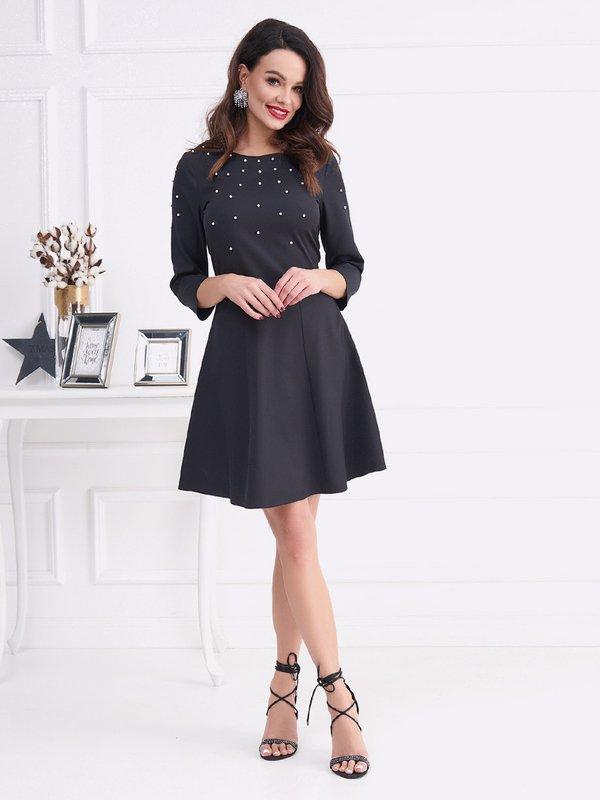 Sukienka Triada Czarna