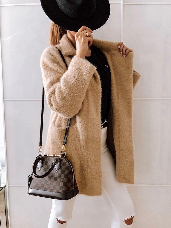 Płaszcz Bianca Premium Beżowy