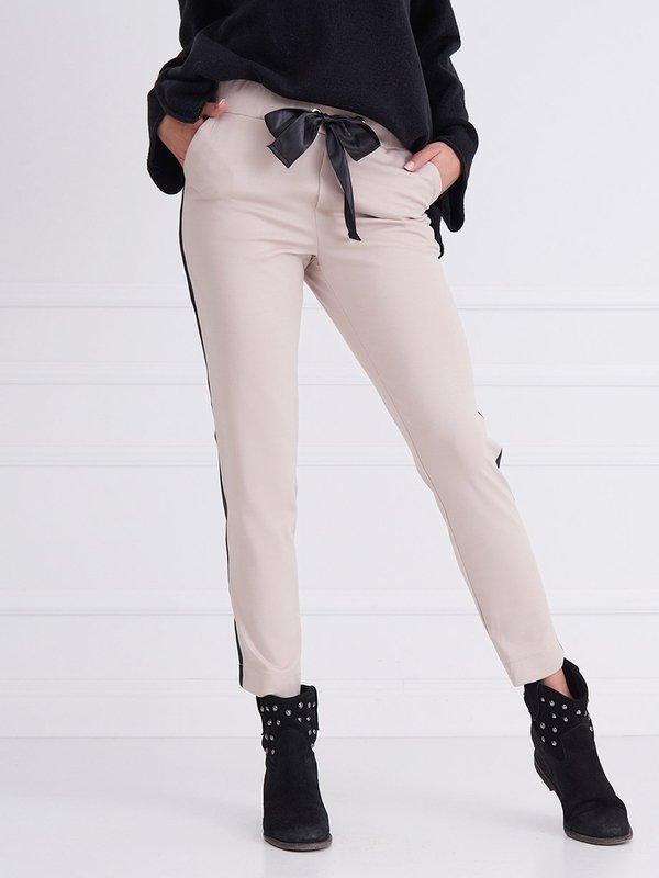 Spodnie Berry Pudrowe