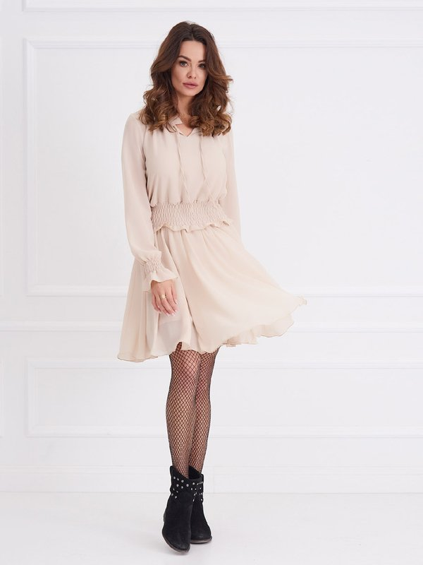 Sukienka Chloa Kremowa