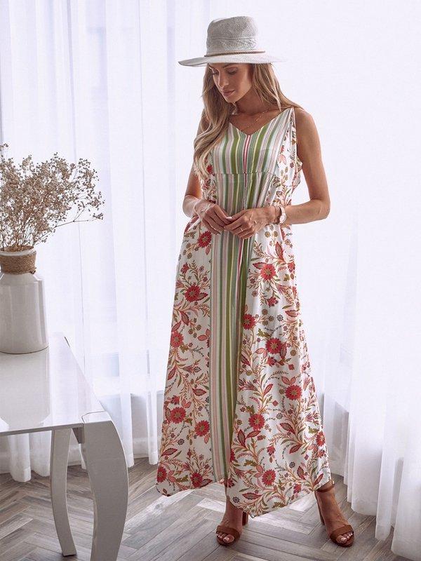 Sukienka Organza Pomarańczowa