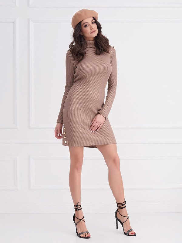 Sukienka Tresh Złota