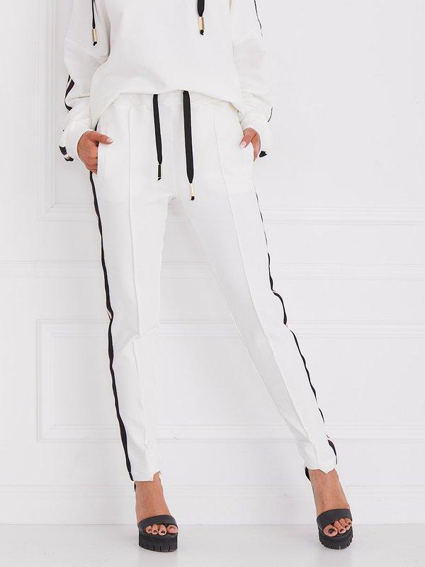 Spodnie Merci Białe
