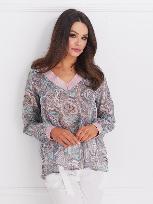 Bluzka Marocco Miętowa