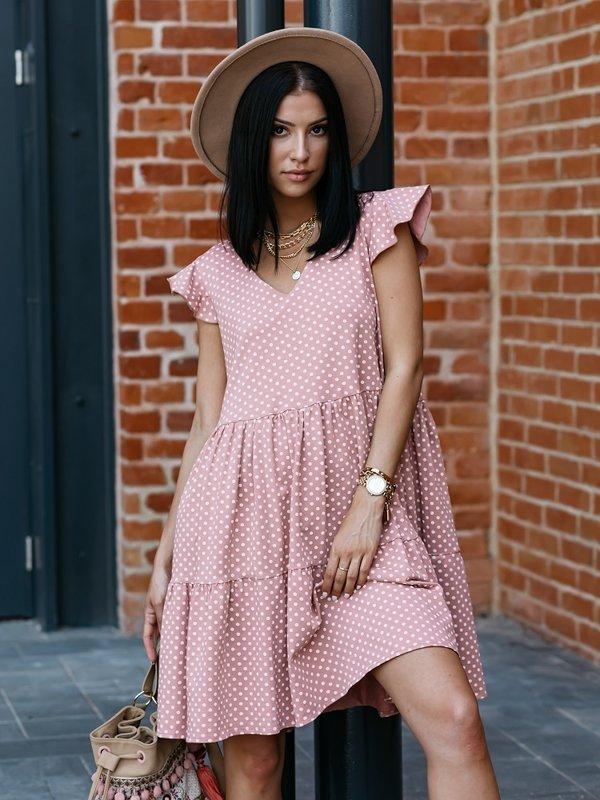 Sukienka Mali Różowa