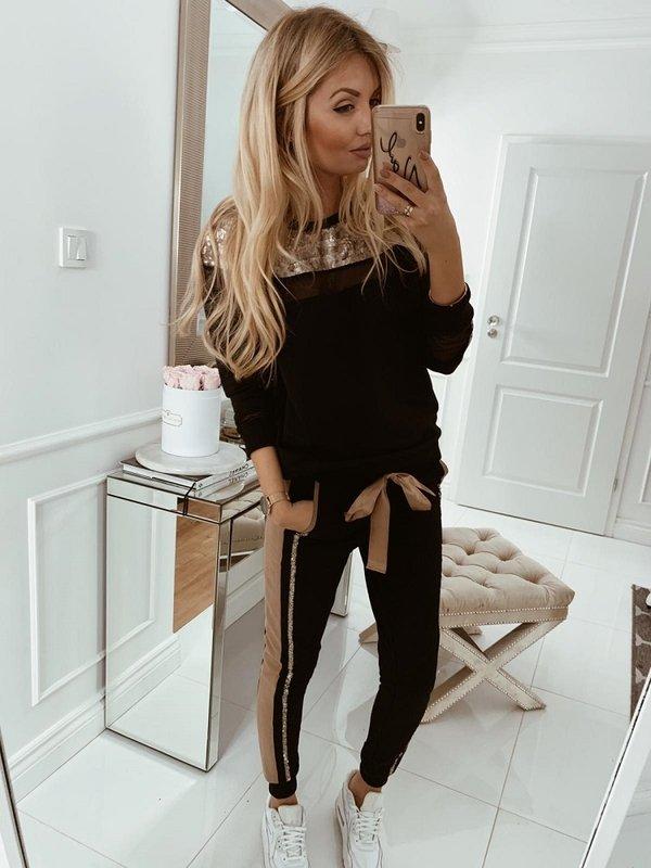 Spodnie Louse Czarne
