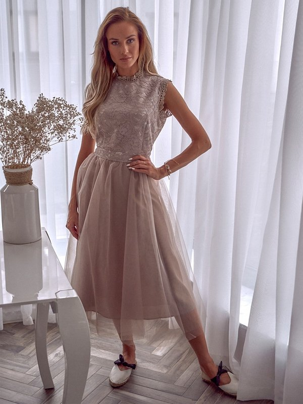 Sukienka Ohana Beżowa