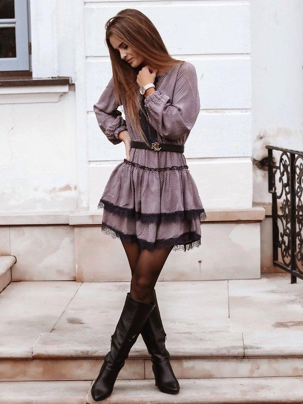 Sukienka Ursula Granatowa