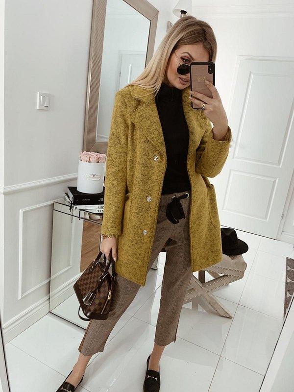 Płaszcz Tiana Żółty