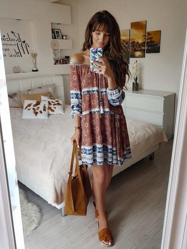 Sukienka Eris Niebieska