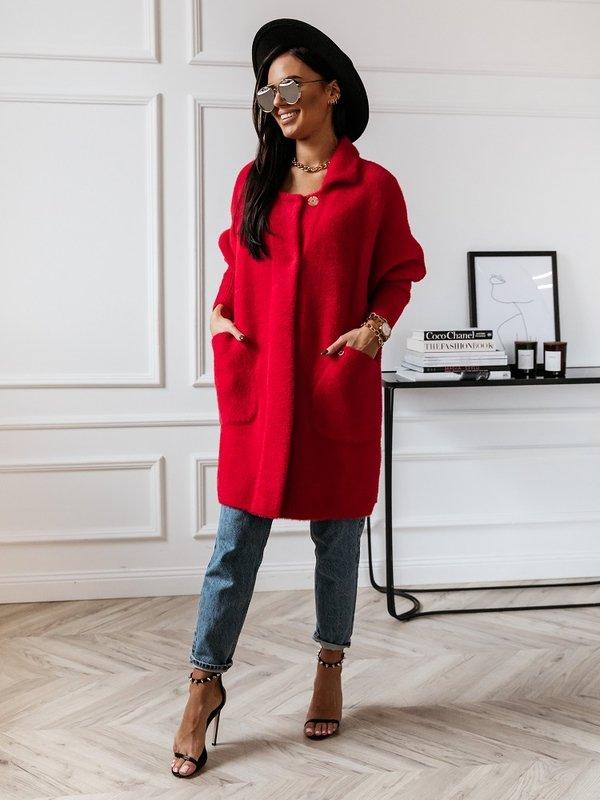 Płaszcz Marelle Czerwony
