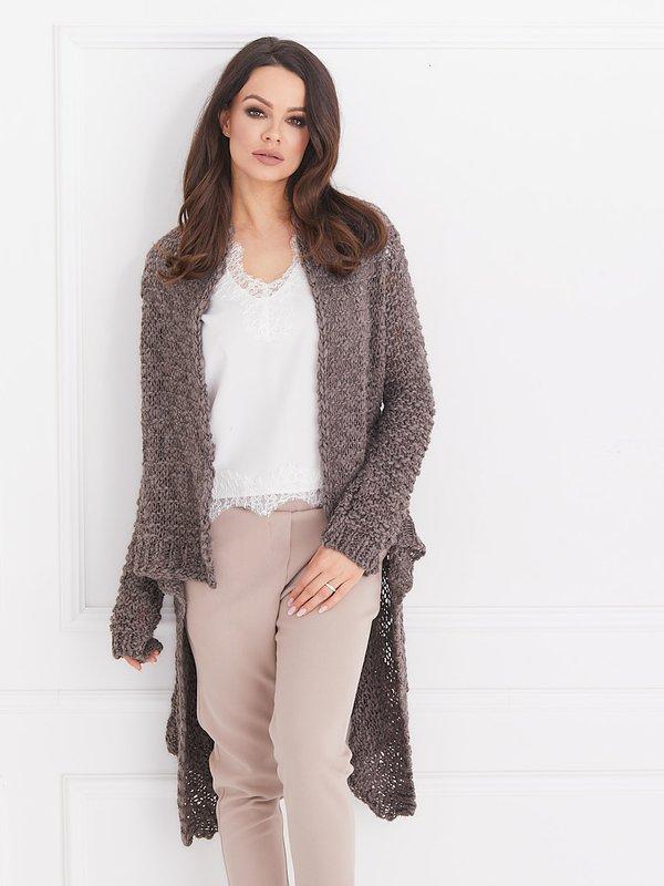 Sweter Naomi Brązowy