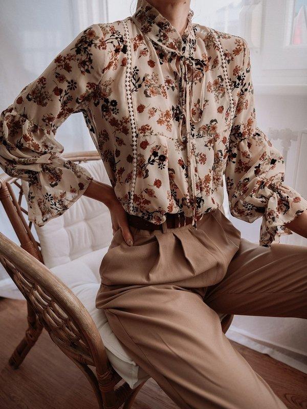 Bluzka Rustic Beżowa