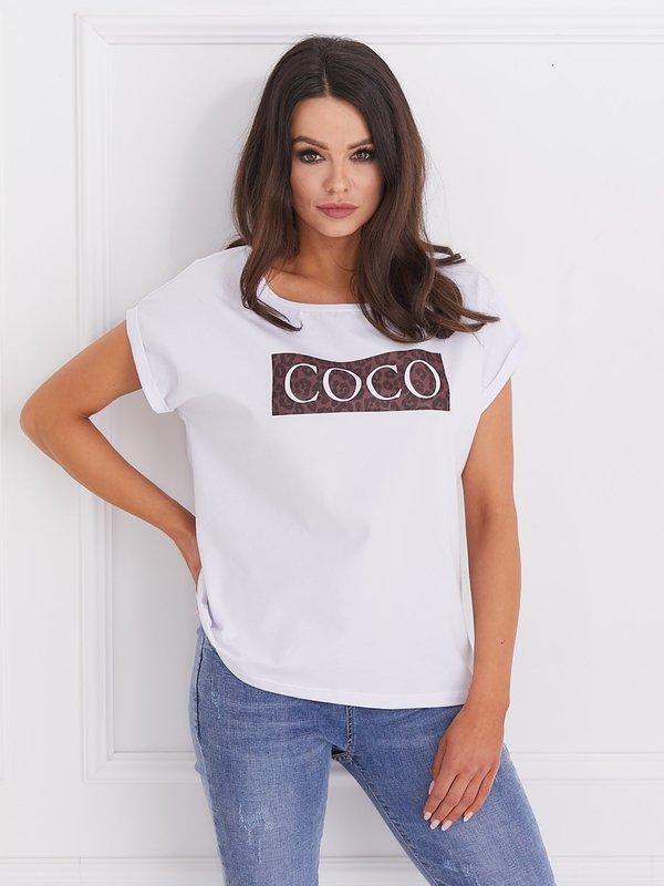 Bluzka Coco Panther Biała