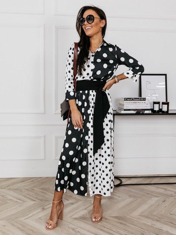Sukienka Twin Dots Biała