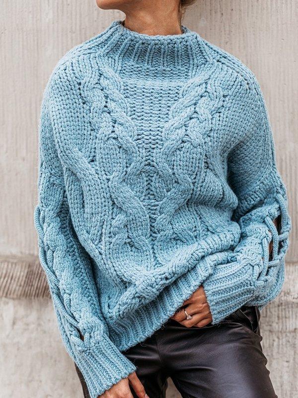 Sweter Sheridan Błękitny