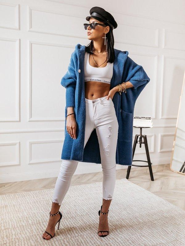 Płaszcz Lolie Premium Jeansowy