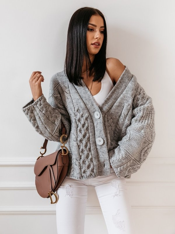 Sweter Manili Szary