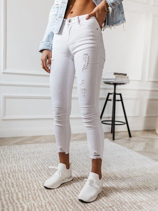 Spodnie Taluma Białe