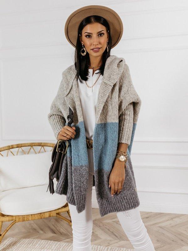 Sweter Rodie Grey Błękitny