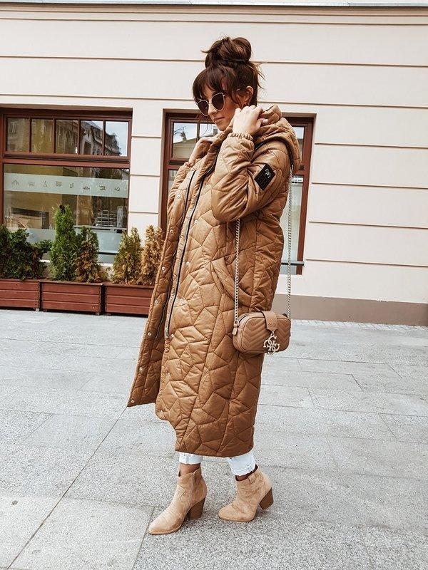 Kurtka Wonder Karmelowa