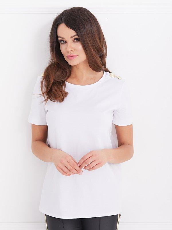 Bluzka Sabrina Biała