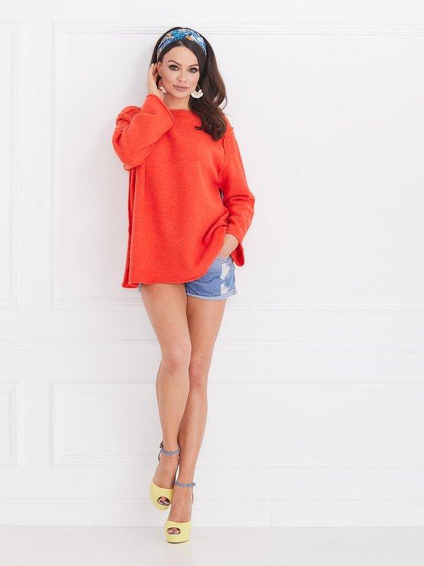 Sweter Bonnie Pomarańczowy