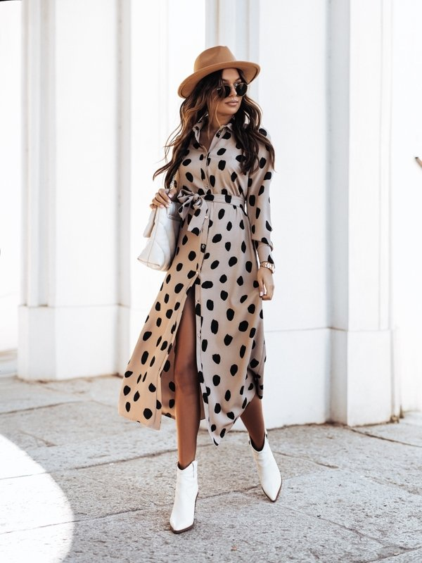 Sukienka Seilo Latte