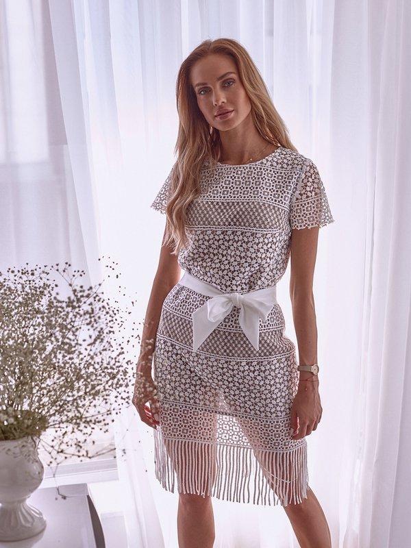 Sukienka Pebble Beżowa
