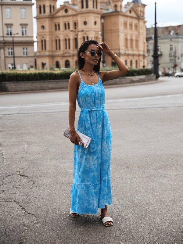 Sukienka Cleo Niebieska