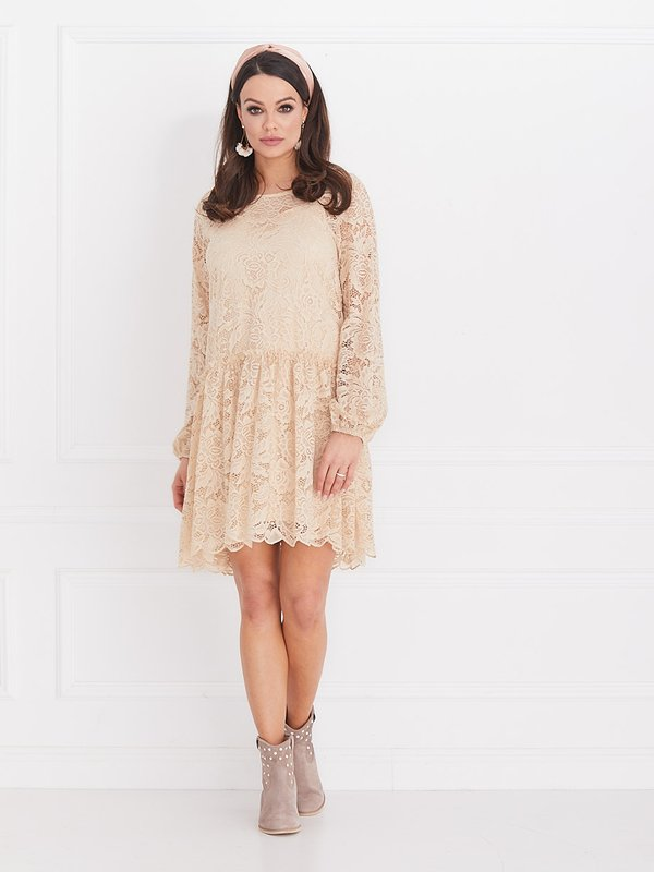 Sukienka Azalia Beżowa