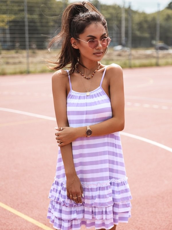Sukienka Rafio Fioletowa