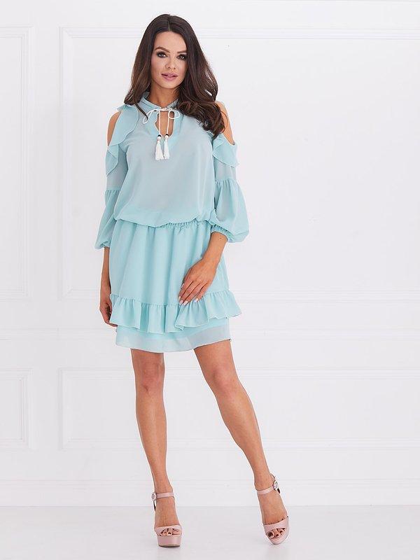 Sukienka Velvet Miętowa