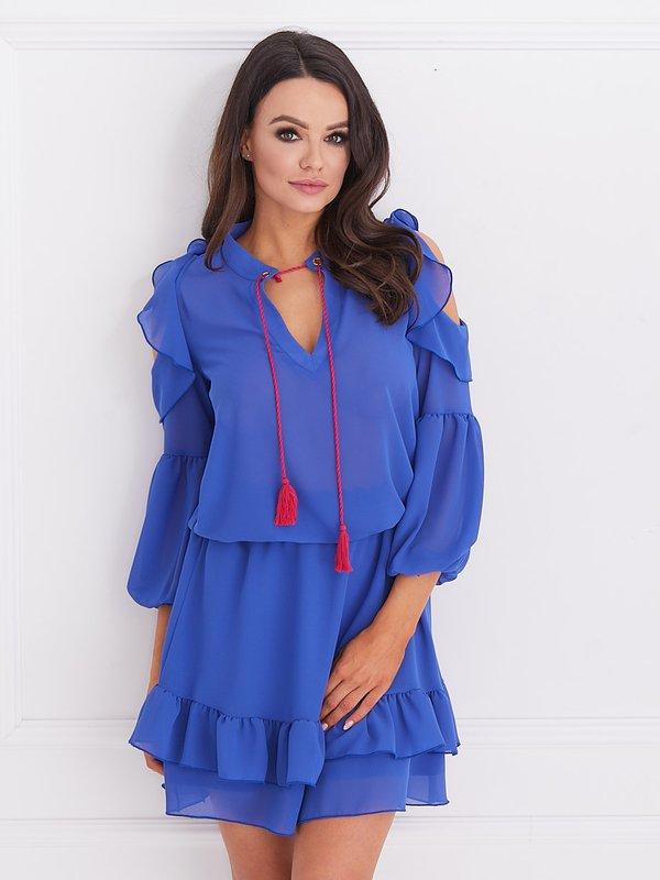 Sukienka Velvet Chabrowa