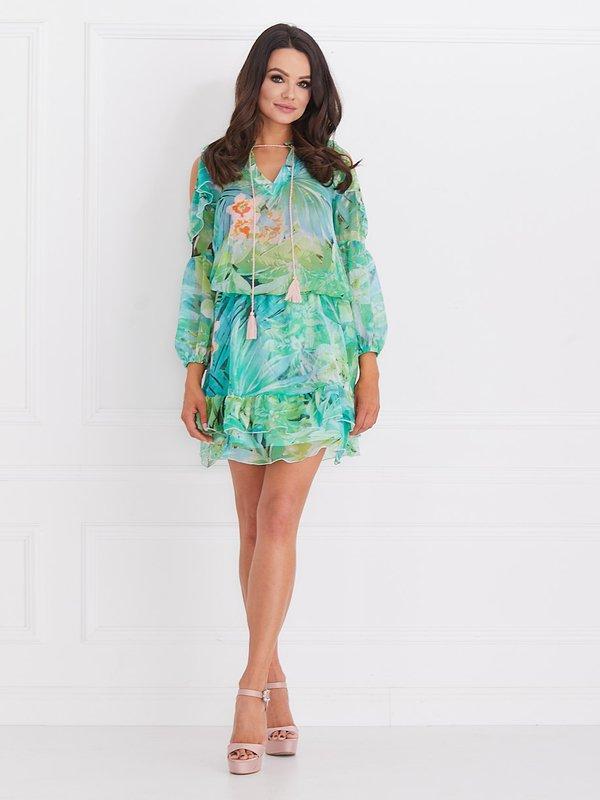 Sukienka Velvet Zielona