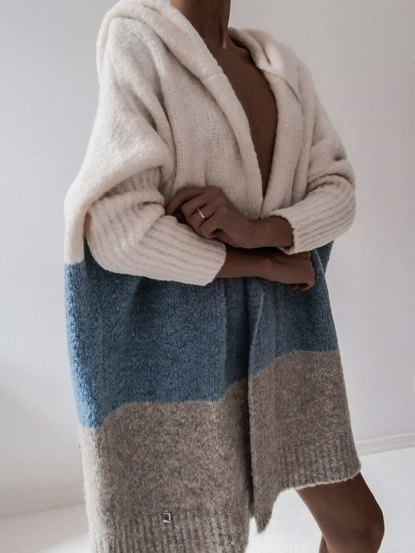 Sweter Nayla Błękitny