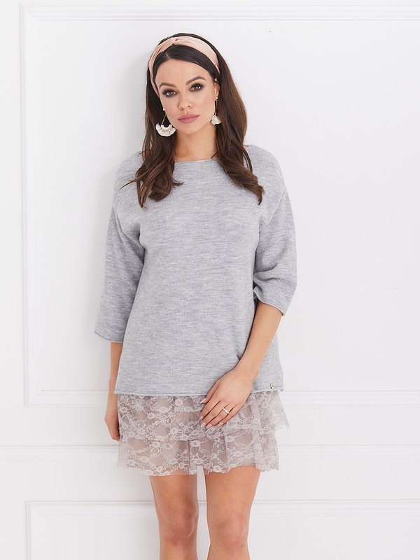 Sweter Lolla Szary