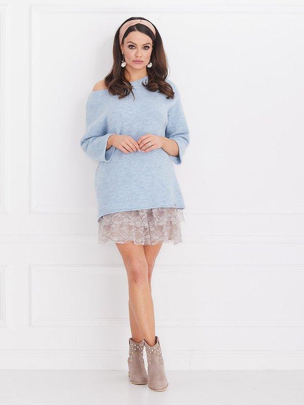 Sweter Lolla Błękitny