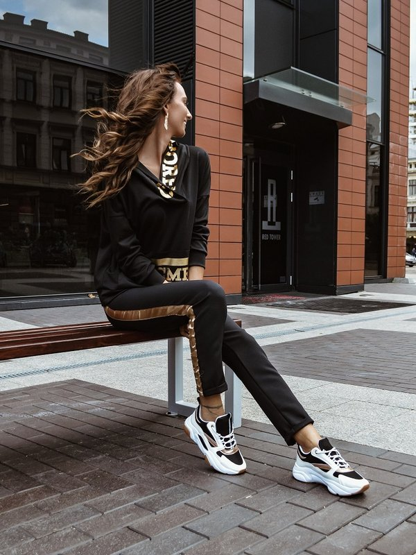 Spodnie Serhio Czarne