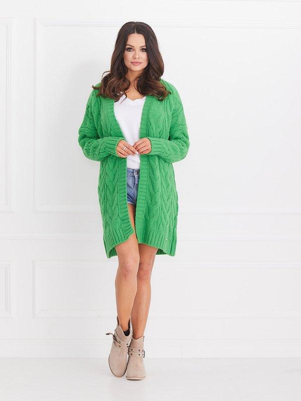 Sweter Vanilla Zielony