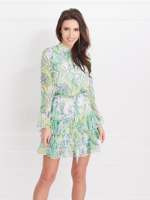 Sukienka Aurora Zielona