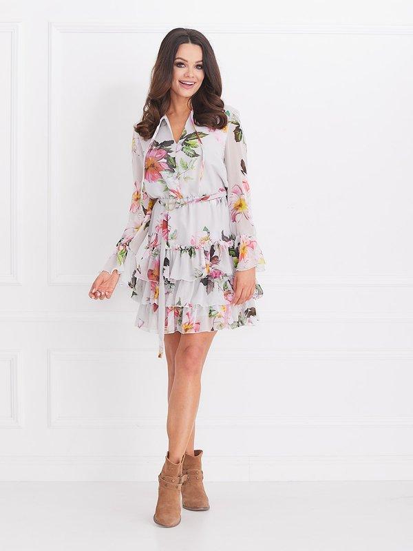 Sukienka Cinamon Szara