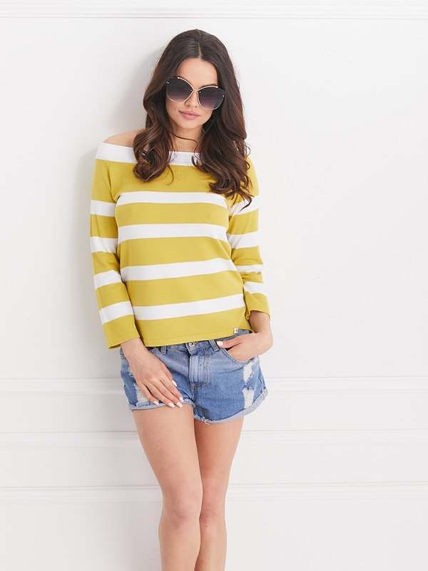 Sweter Miracle Limonkowy
