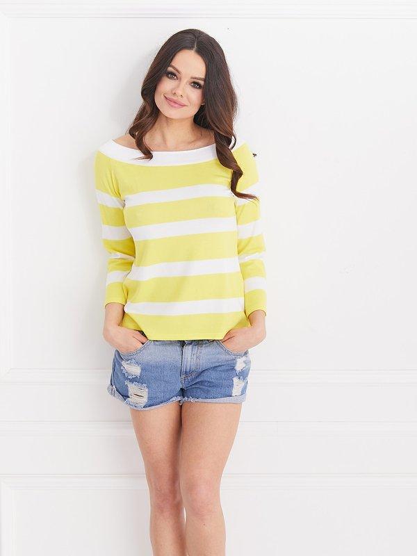 Sweter Miracle Żółty