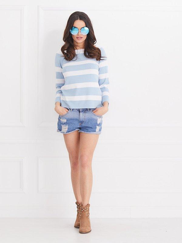 Sweter Miracle Błękitny